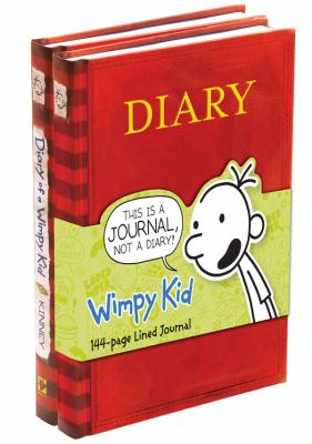 Diary of a Wimpy Kid: #1 + Journal [2 Books] - Book  of the Diary of a Wimpy Kid