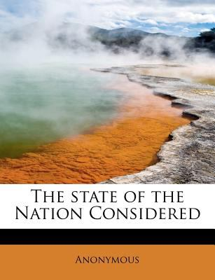 Paperback The State of the Nation Considered Book
