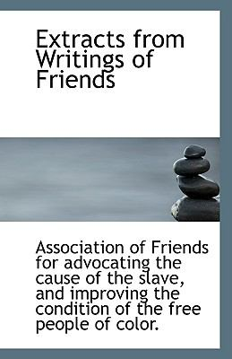 Paperback Extracts from Writings of Friends Book