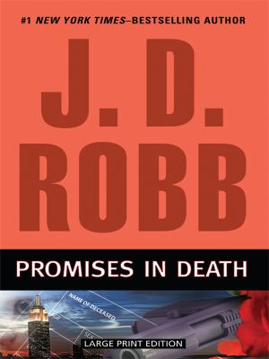 Paperback Promises in Death [Large Print] Book