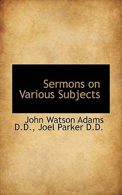 Paperback Sermons on Various Subjects Book