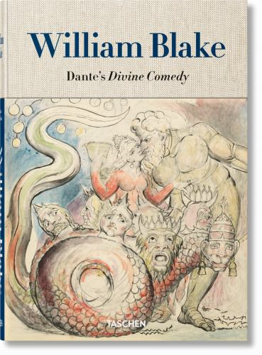 Hardcover William Blake - Dante's 'Divine Comedy' Book