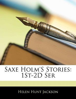 Paperback Saxe Holm's Stories : 1St-2D Ser Book