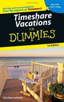 Timeshare Vacations for Dummies? (0764584421 3512579) photo