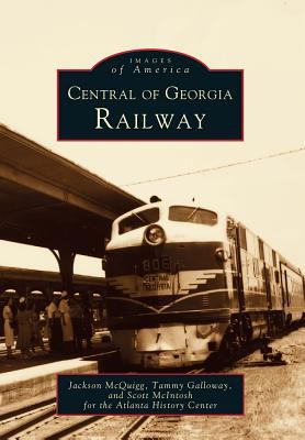 Central of Georgia Railway - Book  of the Images of America: Georgia