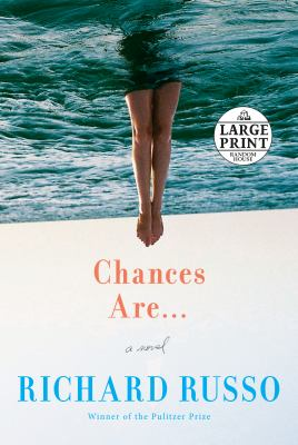 Paperback Chances Are ... : A Novel [Large Print] Book