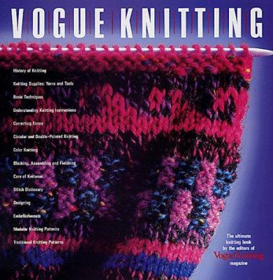 Hardcover Vogue Knitting : The Ultimate Knitting Book
