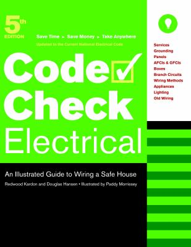 code check electrical code check book by douglas hansen