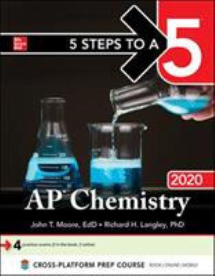 Paperback 5 Steps to a 5: AP Chemistry 2020 Book