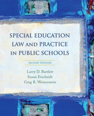 Paperback Special Education Law and Practice in Public Schools Book