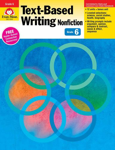 Text-Based Writing: Nonfiction: Common    book by Evan-Moor