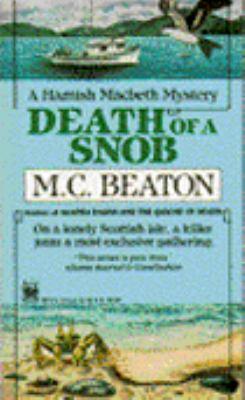 Death of a Snob B0073XVHWC Book Cover