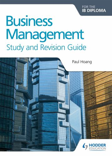 Business Management for the IB Diploma    book by Paul Hoang