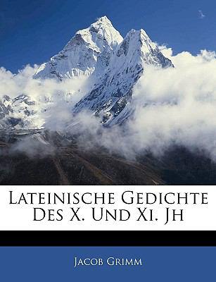 Paperback Lateinische Gedichte des X und XI Jh Book