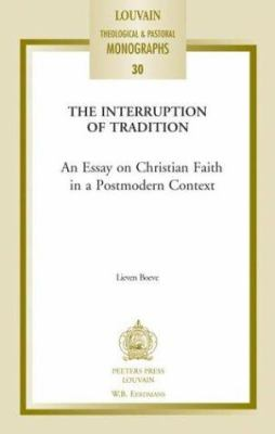 Essays On Poems Interrupting Tradition  An Essay On Christian Faith In A Postmodern Context Essay On Discipline also Essay Macbeth Interrupting Tradition An Essay On Book By Lieven Boeve Title For College Essay