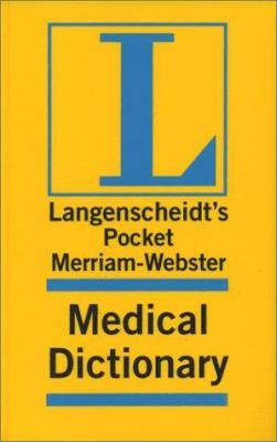 Merriam-Webster Pocket Medical    book