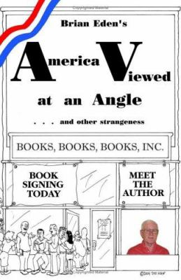 Paperback America Viewed at an Angle and other Strangeness Book