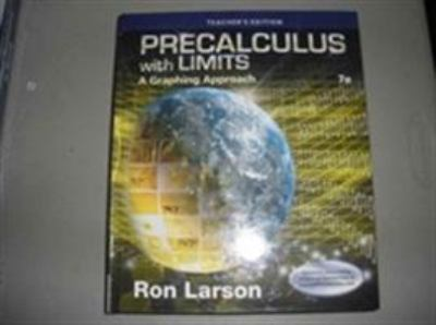 Precalculus With Limits A Graphing    book by Ron Larson