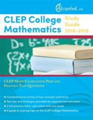 CLEP College Mathematics Study Guide    book by Clep Exam