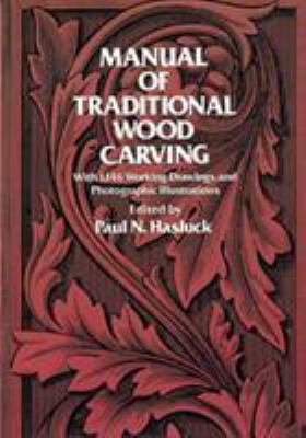 Manual of traditional wood carving book