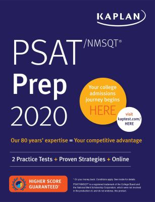 Paperback PSAT/NMSQT Prep 2020 : 2 Practice Tests + Proven Strategies + Online Book
