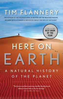 Paperback Here On Earth: A Natural History Of The Planet Book