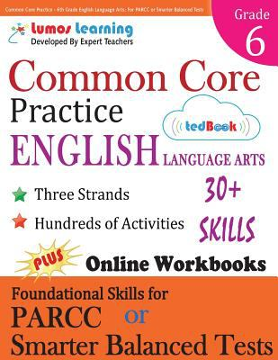 Common Core Practice 6th Grade English Book By Lumos Learning