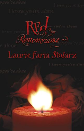 Paperback Red Is for Remembrance Book