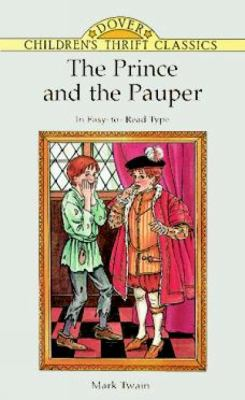The Prince and the Pauper 0486293831 Book Cover