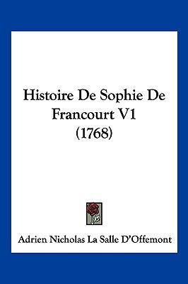 Hardcover Histoire de Sophie de Francourt V1 Book