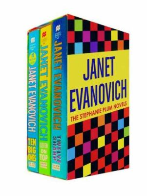 Paperback Janet Evanovich Boxed Set #4: Contains Ten Big Ones, Eleven on Top, and Twelve Sharp Book