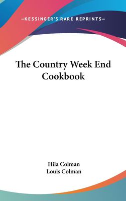Hardcover The Country Week End Cookbook Book