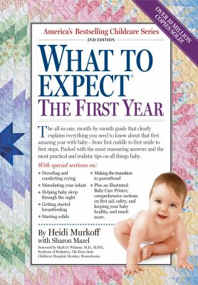 Paperback What to Expect the First Year Book