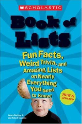 80a9a7c01612 Scholastic Book Of Lists by James Buckley Jr.