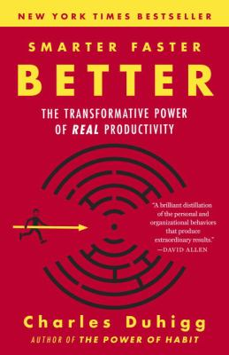 Paperback Smarter Faster Better: The Transformative Power of Real Productivity Book