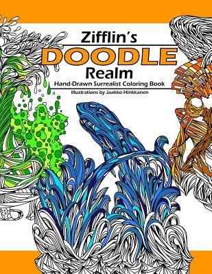Doodle Realm Zifflins Coloring Book