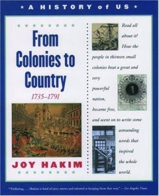 Paperback From Colonies to Country, 1735-1791 Book