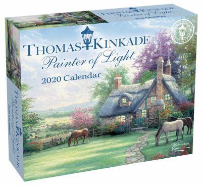 Calendar Thomas Kinkade Painter of Light 2020 Day-to-Day Calendar Book