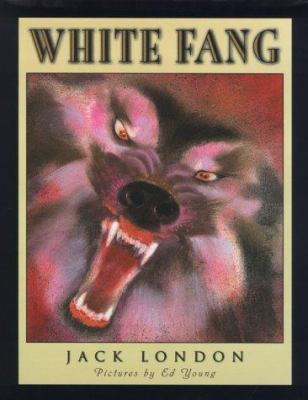 White Fang (Scribner Illustrated Classic) 0689824319 Book Cover