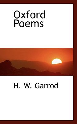 Paperback Oxford Poems Book