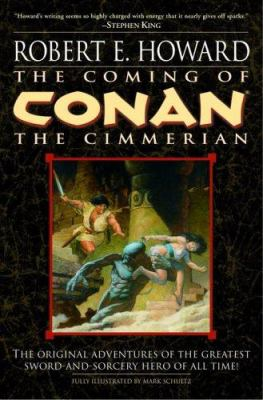 The Coming of Conan the Cimmerian (Conan of Cim... 0345483855 Book Cover