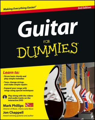 guitar for dummies book by jon chappell. Black Bedroom Furniture Sets. Home Design Ideas