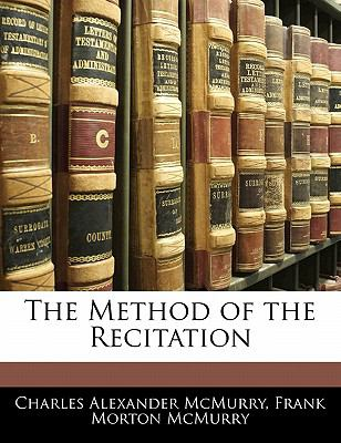 Paperback The Method of the Recitation Book