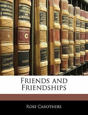 Paperback Friends and Friendships Book