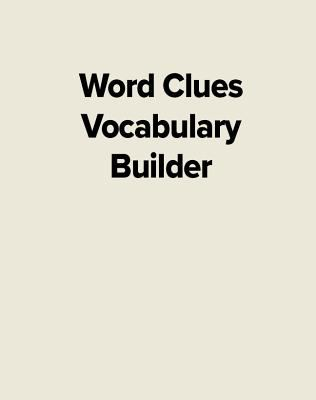 Word Clues the Vocabulary Builder book