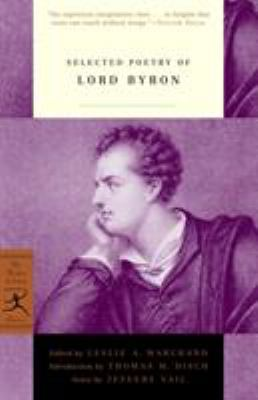 Paperback Selected Poetry of Lord Byron Book