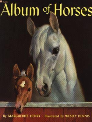 Paperback Album of Horses Book