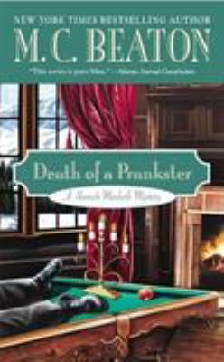 Death of a Prankster 0446573558 Book Cover