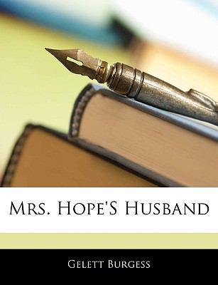 Paperback Mrs Hope's Husband Book