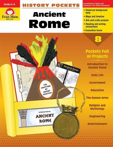 History Pockets: Ancient Rome, Grades    book by Evan-Moor Educational  Publishing